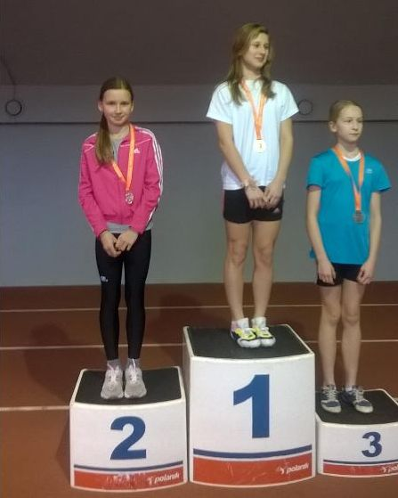 Maja Duliniec - II miejsce bieg na 60m