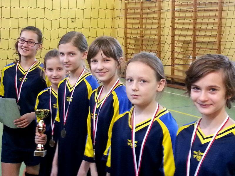 Turniej Mini Piłki Siatkowej Dziewcząt2