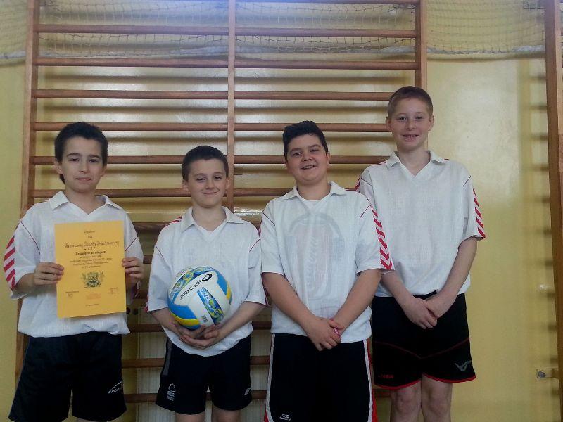 Turniej Mini Piłki Siatkowej Chłopców