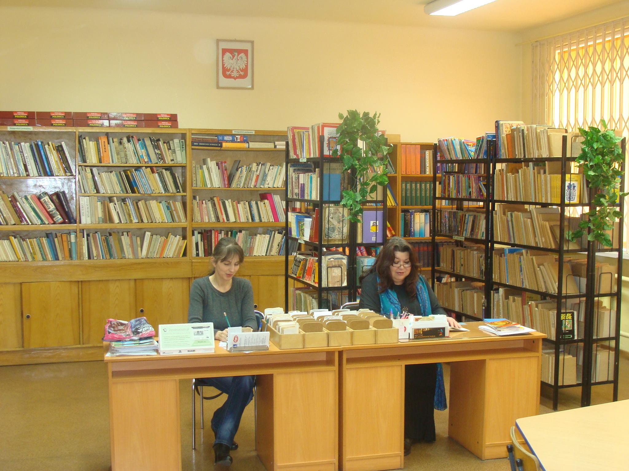 nauczyciele biblioteki