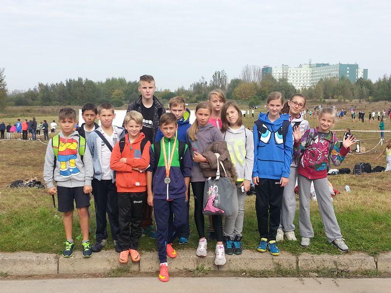 biegi przełajowe 2014 - drużyna