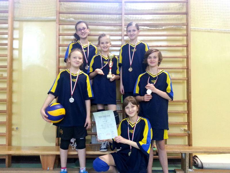 Turniej Mini Piłki Siatkowej Dziewcząt