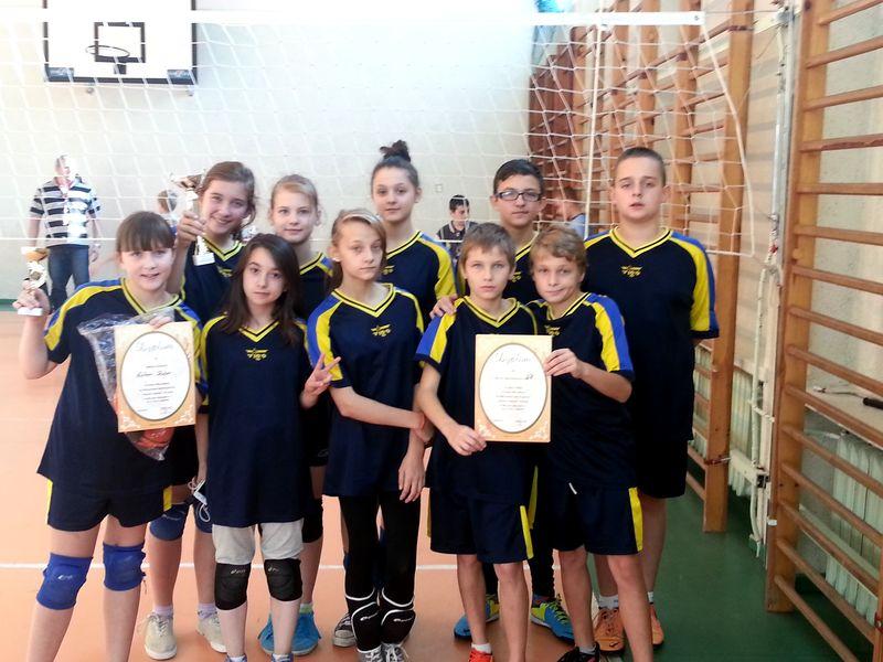 Turniej piłki siatkowej 2014 - zespół